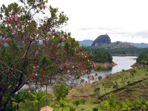 View on El Penon, Guatape, Medellin