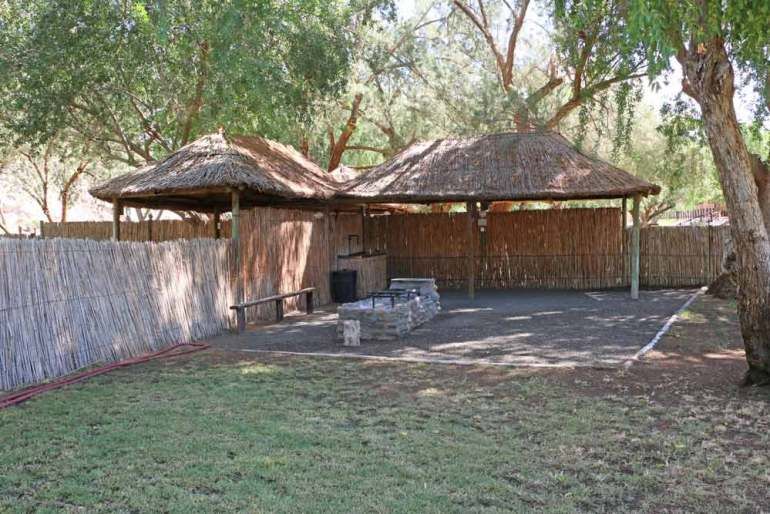 Amanzi campsite in the south of Namibia