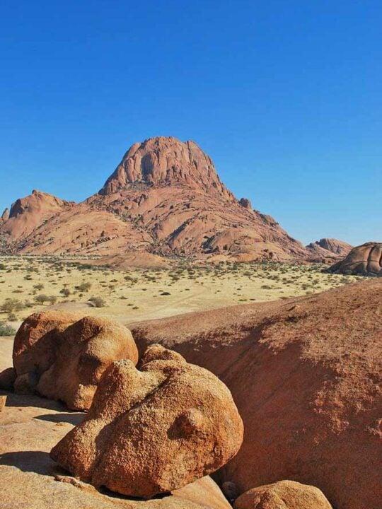 Bizarre mountain range of Spitzkoppe, Namibia