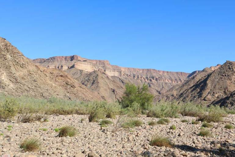 Scenery on the Fish River Canyon hike