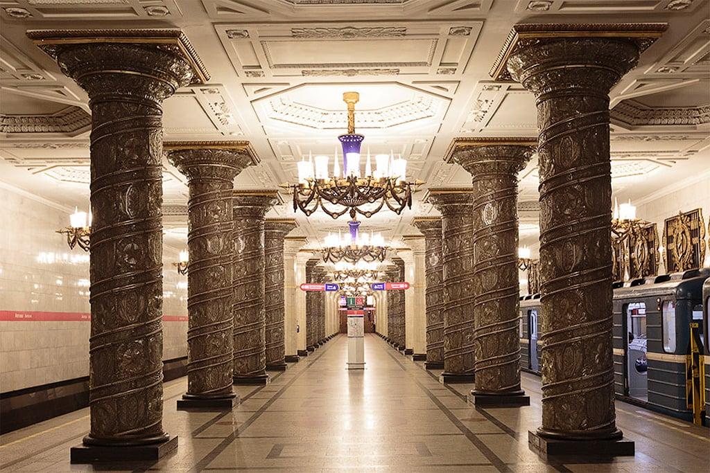 Avtovo metro station, St.Petersburg