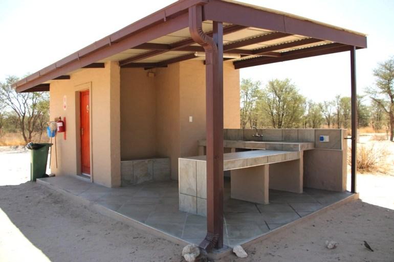 Nossob camp site