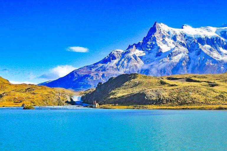 Cascada Pingo trail, Torres del Paine