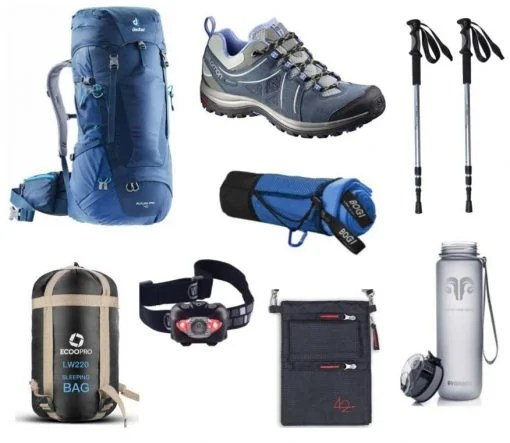 Eight essential gear items to pack for the Camino walk