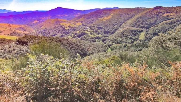 O Cebreiro view point, Camino Frances
