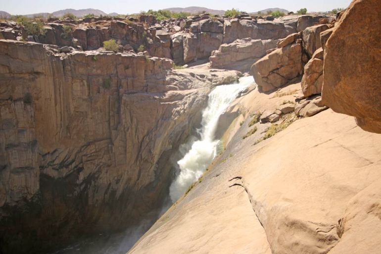 Augrabies Falls National Park a popular tourist destination in Northern Cape