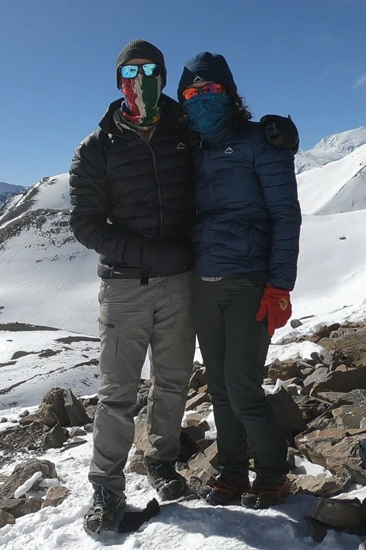 clothing trekking at altitude