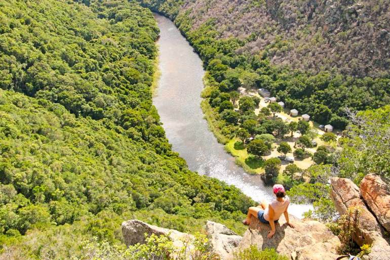 Ebb & Flow, Wilderness hike on honeymoon south africa