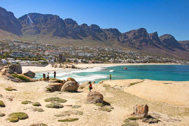 Camps Bay a must visit area on honeymoon in South Africa