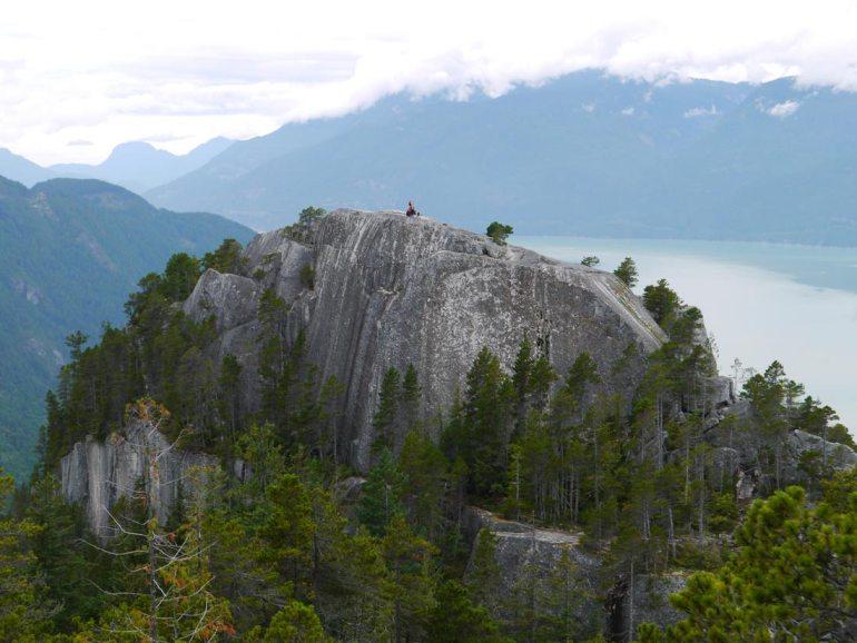 hike stawamus chief on Vancouver away weekend