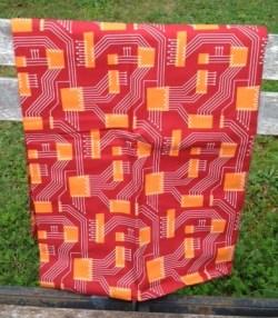 Circuit Print Fabric