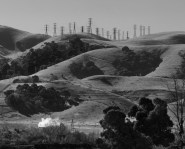 Powerlines on top of Hill