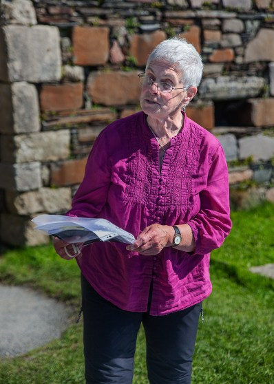 Jan Sutch Pickard, the best tour guide for the convent