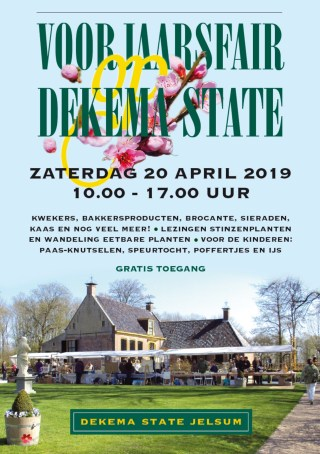 Spring Fair, 20 april at Dekema State.
