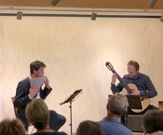 Duo Verso, Matthijs Koene (panfluit), Stefan Gerritsen (gitaar), Pakhûs SOLO, 12 april 2019