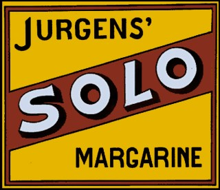 Beeldmerk: Jurgens' SOLO margarine.