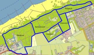 Landgoederen SBB in De Manteling bij Domburg.