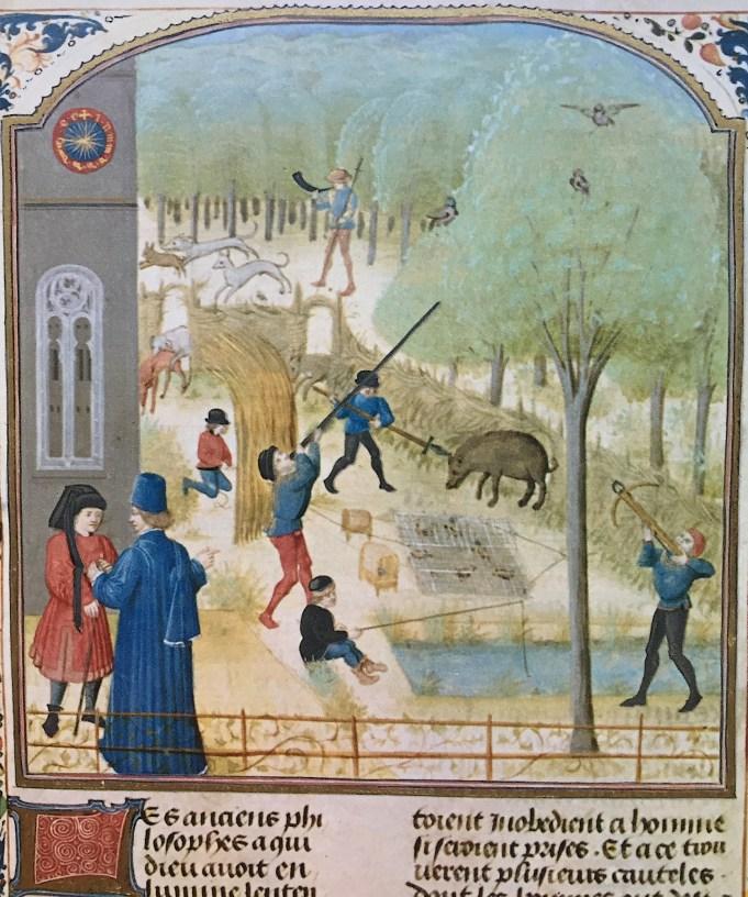Crescentiis, La chasse 1373