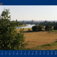 Augustblatt Kalender 2007