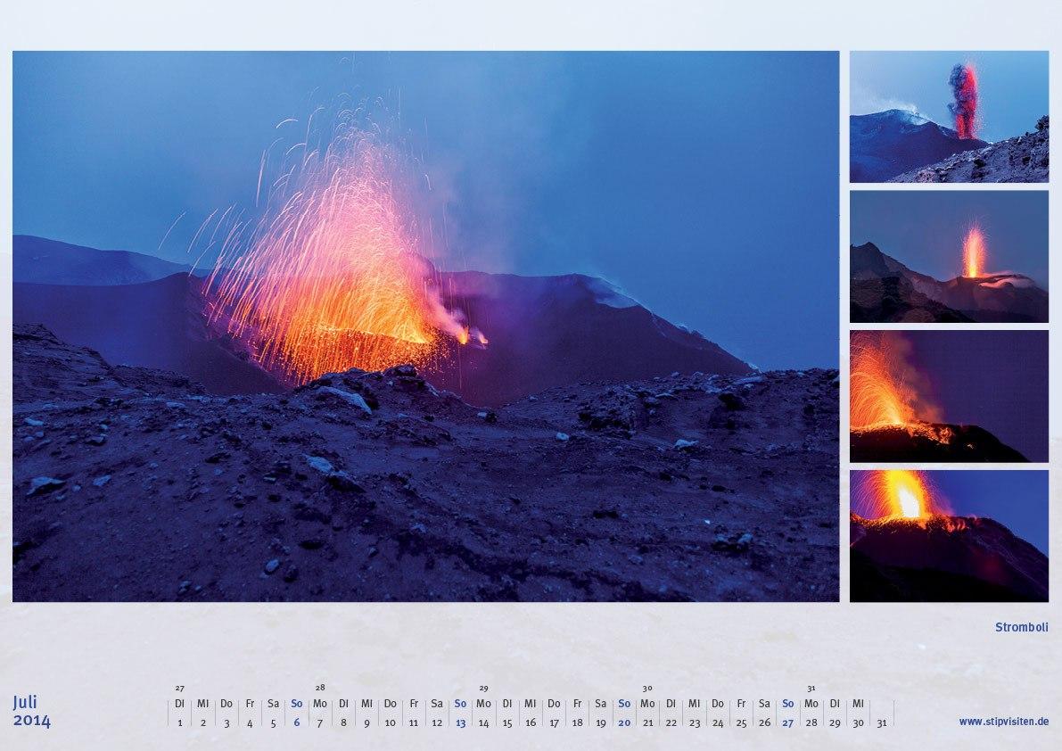 Juli 2014: Stromboli