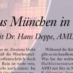 Ein Westfale aus München in Dresden