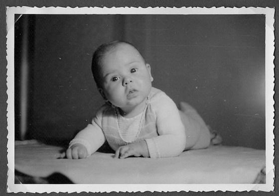 64b Vati 1950er - 1951 Uli 5 Monate