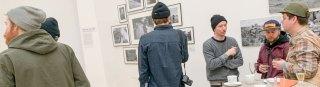 Künstler mit Mütze
