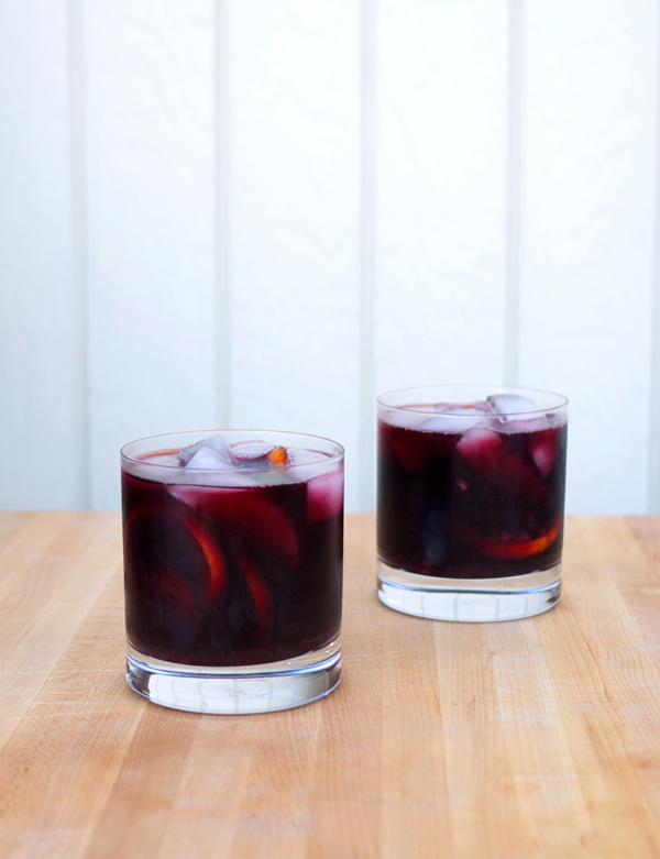 sage blackberry sangria