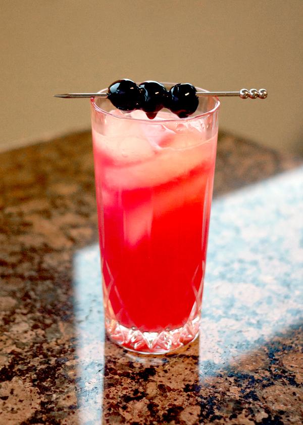 Red Ruth Cocktail // Stirandstrain.com