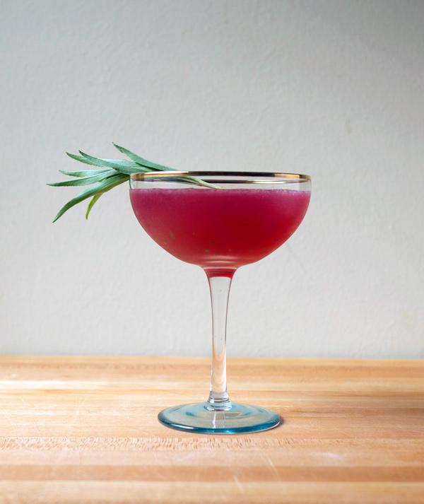 Electric Pink Fields Rum #Cocktail // stirandstrain.com