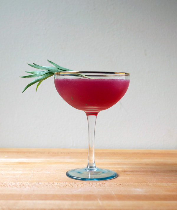 Electric Pink Fields Rum #Cocktail // stirandstrain.com