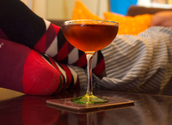 hanky panky homebodies cocktails // stirandstrain.com