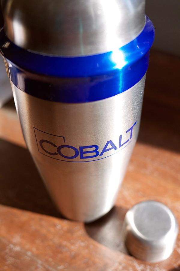 cobalt shaker // Trinidad Spell Cocktail // stirandstrain.com