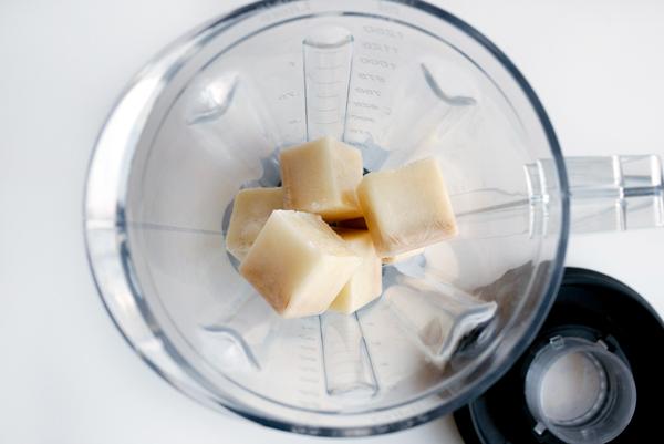 Vegan Cinnamon Cashew Milkshake with Quick Infused Vanilla Bourbon // stirandstrain.com