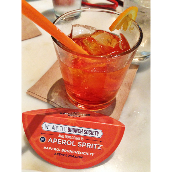 Aperol Spritzes are my brunch jam.