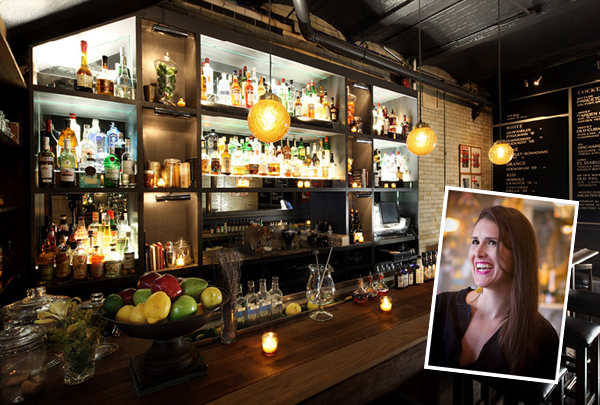 The Traveling Bar - The Daily in NYC // stirandstrain.com