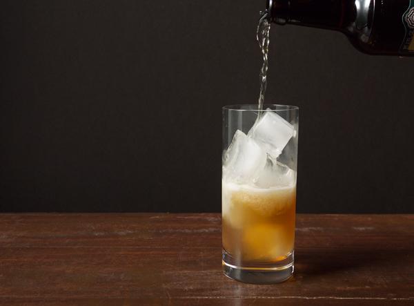 Apple Elixir Cocktail // stirandstrain.com