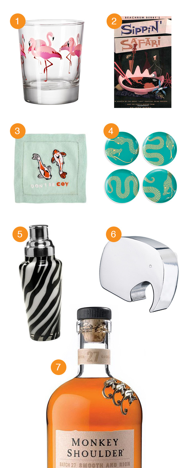 It's a Jungle Out There Holiday Gift Guide 2014 // stirandstrain.com