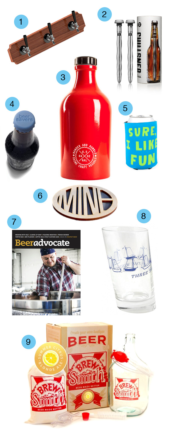 Beer Lovers Gift Guide 2014 // stirandstrain.com