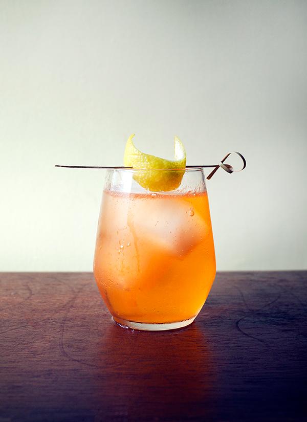 Sierra Madre Sunrise Cocktail // stirandstrain.com
