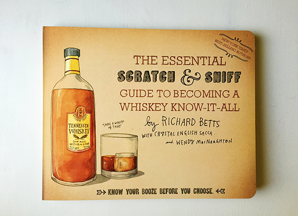 Giveaway: Scratch and Sniff Whiskey Book // stirandstrain.com