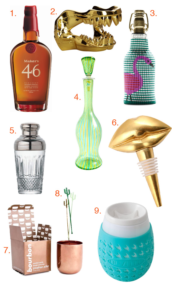 Holiday Gift Guide: Stuff Your Stocking with Booze! // stirandstrain.com
