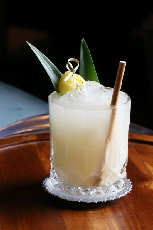 Barrel in the Tropics, winning cocktail from 2015 WSWA convention // stirandstrain.com