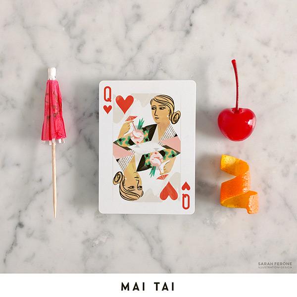 Cocktail Hour Playing Cards // stirandstrain.com