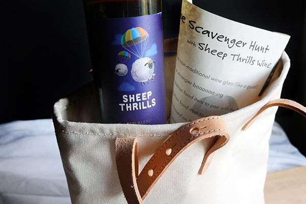 Sheep Thrills Wine Scavenger Hunt // stirandstrain.comSheep Thrills Wine Scavenger Hunt // stirandstrain.com