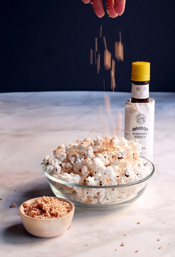 Angostura Dusted Popcorn // stirandstrain.com