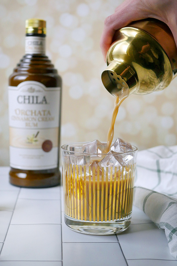 24 Karat Irish Coffee with Chila 'Orchata // stirandstrain.com