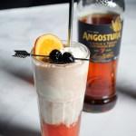 Angostura Rum & Black Cherry Soda Float