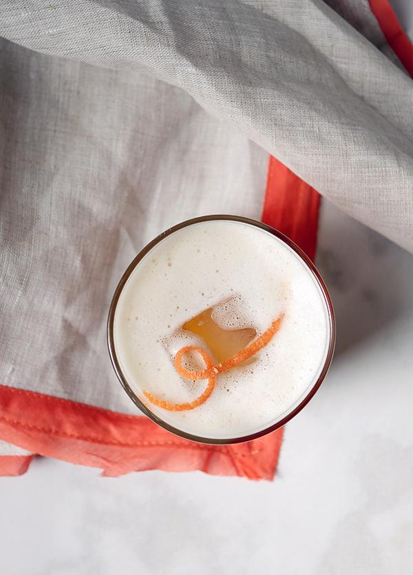 Orange Marmalade Whiskey Sour // stirandstrain.com