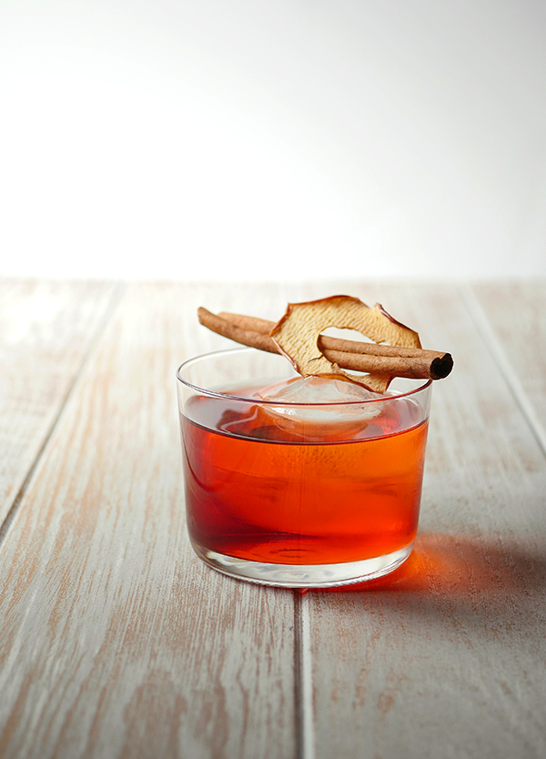The Apple-groni Cocktail // stirandstrain.com